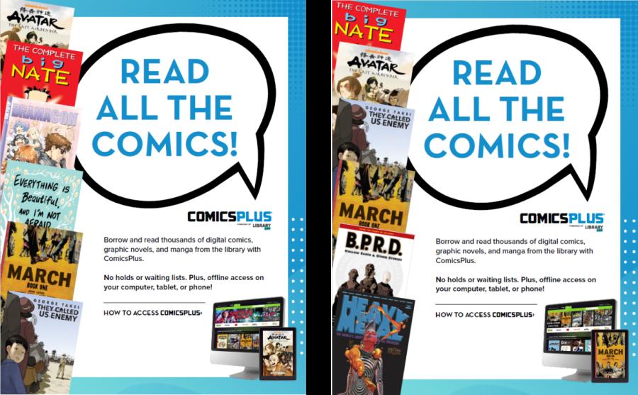 READ ALL THE COMICS!