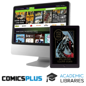 Comics Plus for Academic Libraries